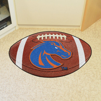 "20.5"" x 32.5"" Boise State University Football Shape Mat"
