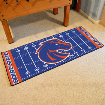 "30"" x 72"" Boise State University Football Field Rectangle Runner Mat"
