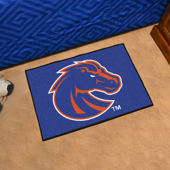"19"" x 30"" Boise State University Blue Rectangle Starter Mat"