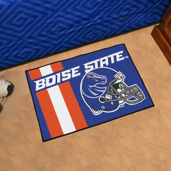 "19"" x 30"" Boise State University Uniform Blue Rectangle Starter Mat"