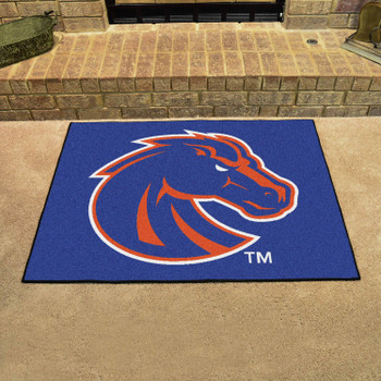 "33.75"" x 42.5"" Boise State University All Star Blue Rectangle Mat"