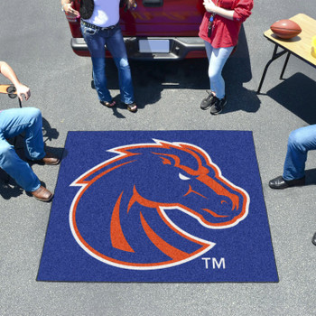 "59.5"" x 71"" Boise State University Blue Tailgater Mat"