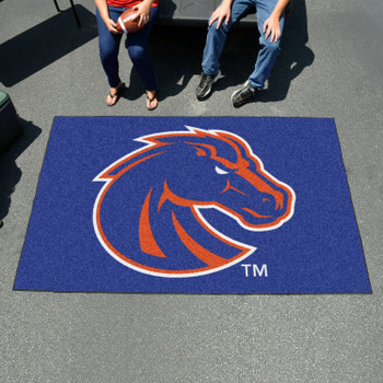 "59.5"" x 94.5"" Boise State University Blue Rectangle Ulti Mat"