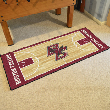 "30"" x 72"" Boston College NCAA Basketball Rectangle Runner Mat"