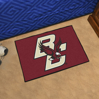 "19"" x 30"" Boston College Maroon Rectangle Starter Mat"