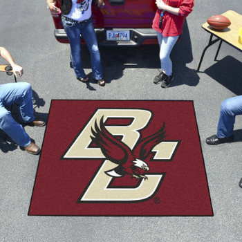 "59.5"" x 71"" Boston College Maroon Tailgater Mat"