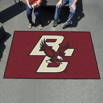 """59.5"""" x 94.5"""" Boston College Maroon Rectangle Ulti Mat"""