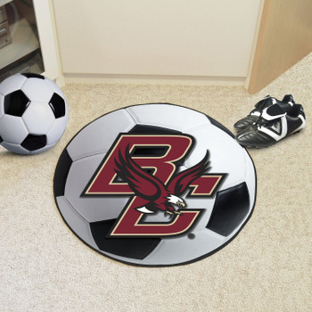 "27"" Boston College Soccer Ball Round Mat"