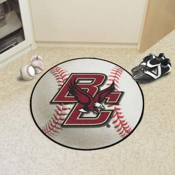 "27"" Boston College Baseball Style Round Mat"