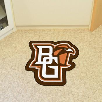 "Bowling Green State University Mascot Mat - ""BG & Falcon"" Logo"
