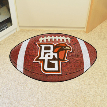 "20.5"" x 32.5"" Bowling Green State University Football Shape Mat"
