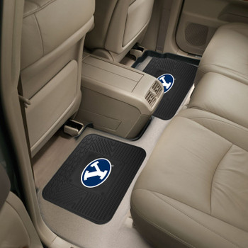 Brigham Young University Heavy Duty Vinyl Car Utility Mats, Set of 2