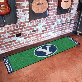 "18"" x 72"" Brigham Young University Putting Green Runner Mat"