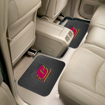 Central Michigan University Heavy Duty Vinyl Car Utility Mats, Set of 2