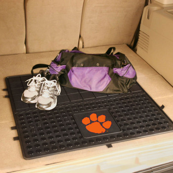 "31"" Clemson University Heavy Duty Vinyl Cargo Trunk Mat"