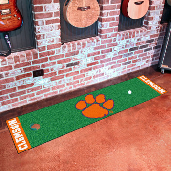 "18"" x 72"" Clemson University Putting Green Runner Mat"