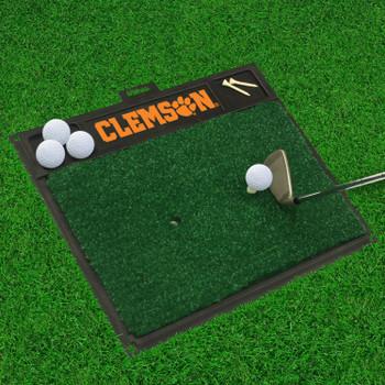 """20"""" x 17"""" Clemson University Golf Hitting Mat"""