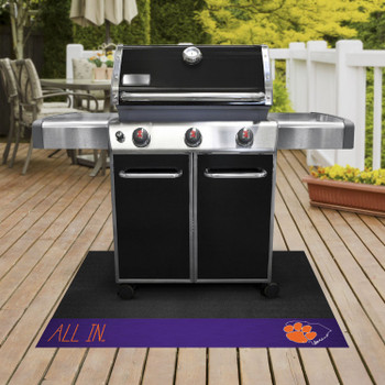 Clemson University Southern Style Grill Mat
