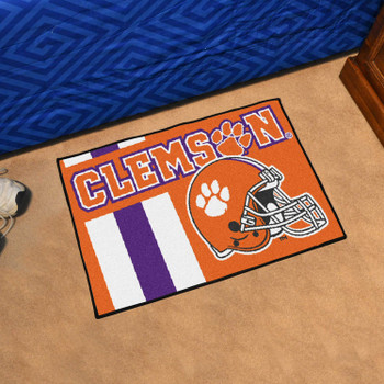 "19"" x 30"" Clemson University Uniform Orange Rectangle Starter Mat"