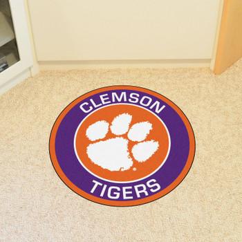 "27"" Clemson University Roundel Round Mat"
