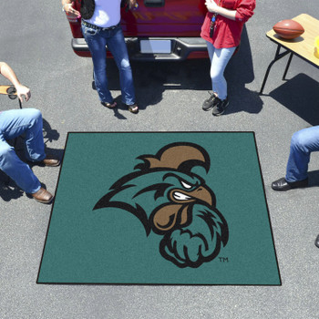 "59.5"" x 71"" Coastal Carolina University Teal Tailgater Mat"