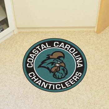 """27"""" Coastal Carolina University Roundel Round Mat"""