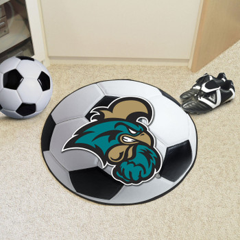 "27"" Coastal Carolina University Soccer Ball Round Mat"