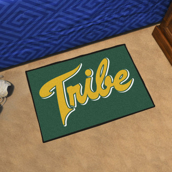 "19"" x 30"" College of William & Mary Tribe Green Rectangle Starter Mat"