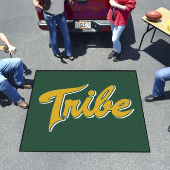 "59.5"" x 71"" College of William & Mary Green Tailgater Mat"