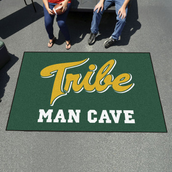 "59.5"" x 94.5"" College of William & Mary Man Cave Green Rectangle Ulti Mat"