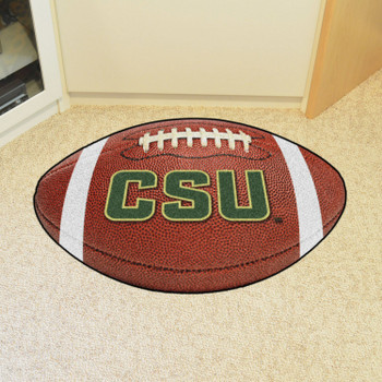 "20.5"" x 32.5"" Colorado State University Football Shape Mat"