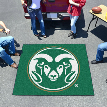 "59.5"" x 71"" Colorado State University Green Tailgater Mat"