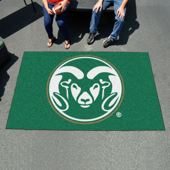 "59.5"" x 94.5"" Colorado State University Green Rectangle Ulti Mat"