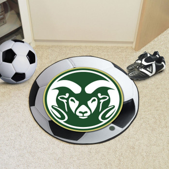 "27"" Colorado State University Soccer Ball Round Mat"