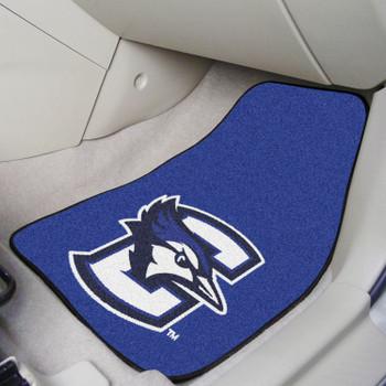Creighton University Blue Carpet Car Mat, Set of 2