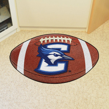 "20.5"" x 32.5"" Creighton University Football Shape Mat"