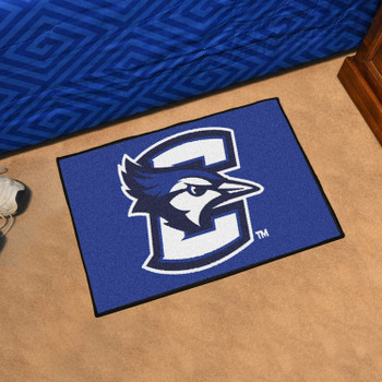 "19"" x 30"" Creighton University Blue Rectangle Starter Mat"