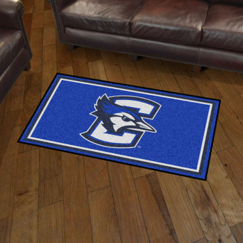 3' x 5' Creighton University Blue Rectangle Rug
