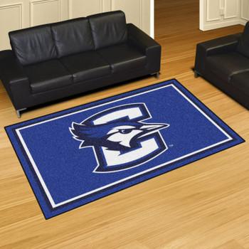 5' x 8' Creighton University Blue Rectangle Rug