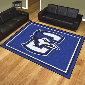 8' x 10' Creighton University Blue Rectangle Rug