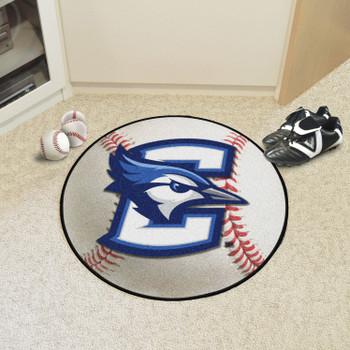 "27"" Creighton University Baseball Style Round Mat"