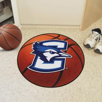 "27"" Creighton University Basketball Style Round Mat"