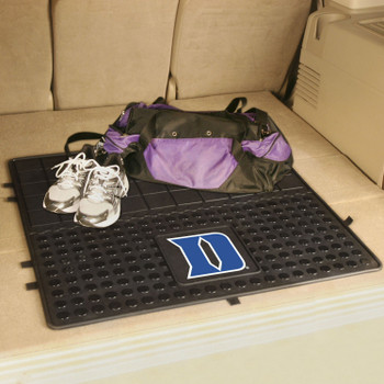 "31"" Duke University Heavy Duty Vinyl Cargo Trunk Mat"