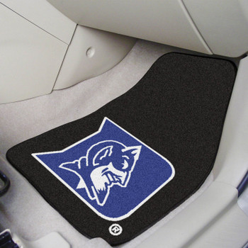 Duke University Blue Carpet Car Mat, Set of 2