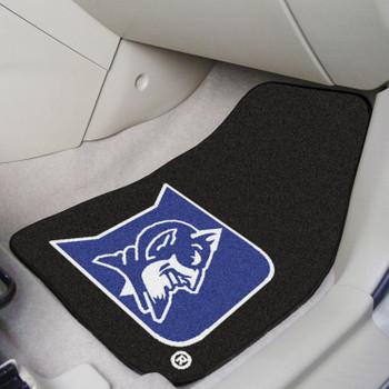 Duke University Blue Carpet Car Mat, Set of 2