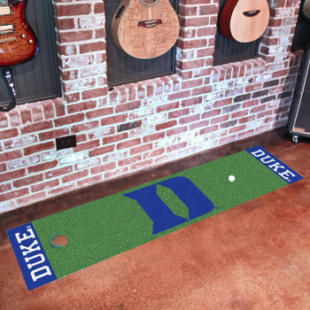 "18"" x 72"" Duke University Putting Green Runner Mat"