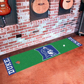 "18"" x 72"" Duke University Blue Devils Putting Green Runner Mat"