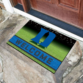 "18"" x 30"" Duke University Crumb Rubber Door Mat"