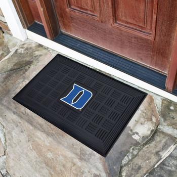 """19.5"""" x 31.25"""" Duke University Medallion Rectangle Door Mat"""