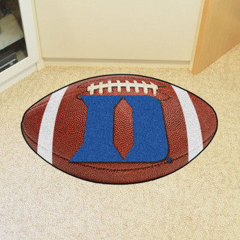 "20.5"" x 32.5"" Duke University Football Shape Mat"